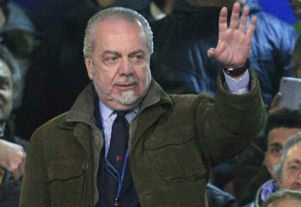 Aurelio De Laurentiis, presidente del Napoli (Infophoto)