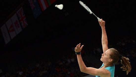 Tre titoli da assegnare oggi nel badminton (Infophoto)