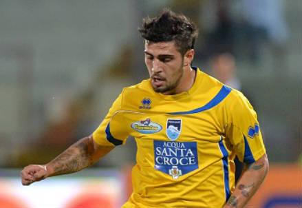 Antonio Balzano, 27 anni, terzino destro del Pescara (INFOPHOTO)