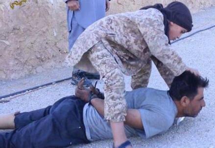 Immagini diffuse dall'Isis