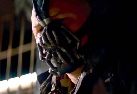 Bane, il personaggio nemico di Batman (InfoPhoto)