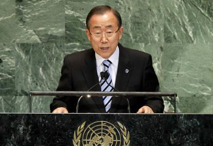 Ban Ki-moon (Infophoto)