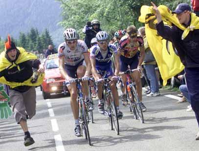 Bartoli e Merckx (Foto: Infophoto)