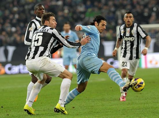 Sergio Floccari, attaccante Lazio (Foto Infophoto)