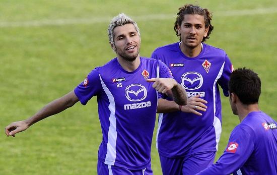 Alessio Cerci ai tempi della Fiorentina (Infophoto)