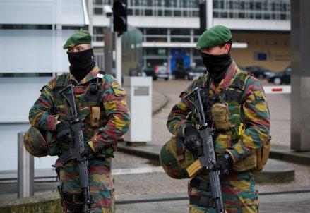Misure anti-terrorismo in Belgio (Infophoto)