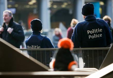 Azione antiterrorismo in Belgio (Infophoto)