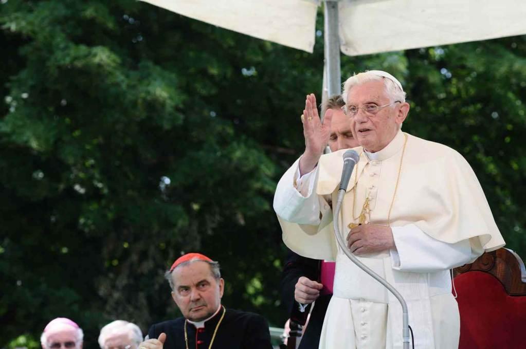 Benedetto XVI (Foto: Infophoto)