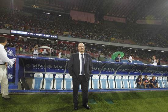 Rafael Benitez, 53 anni, allenatore spagnolo del Napoli (INFOPHOTO)