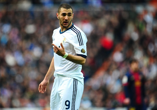 Karim Benzema, attaccante Real Madrid (Infophoto)