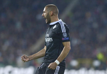Karim Benzema, 26 anni, francese (dall'account Twitter ufficiale @ChampionsLeague)