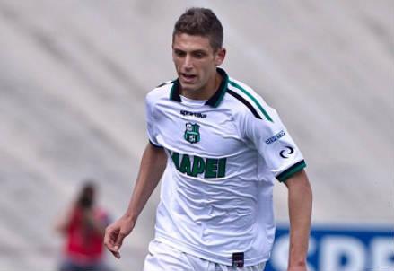 Domenico Berardi, 19 anni, attaccante del Sassuolo (INFOPHOTO)