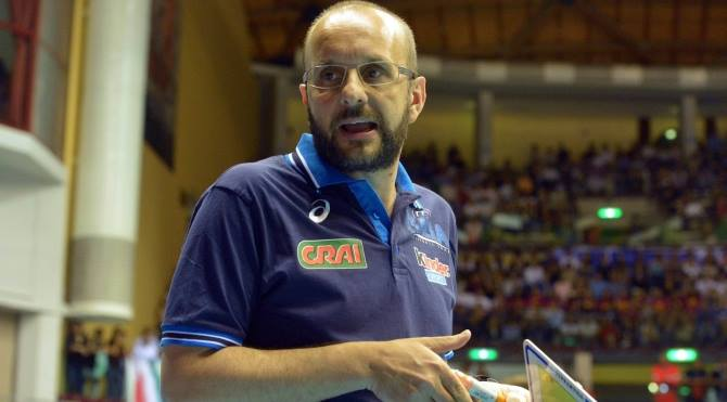 Mauro Berruto, ct dell'Italvolley