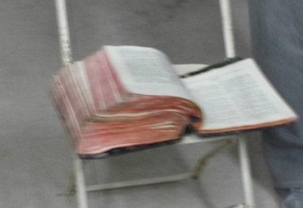 La Bibbia ritrovata, foto da Instagram