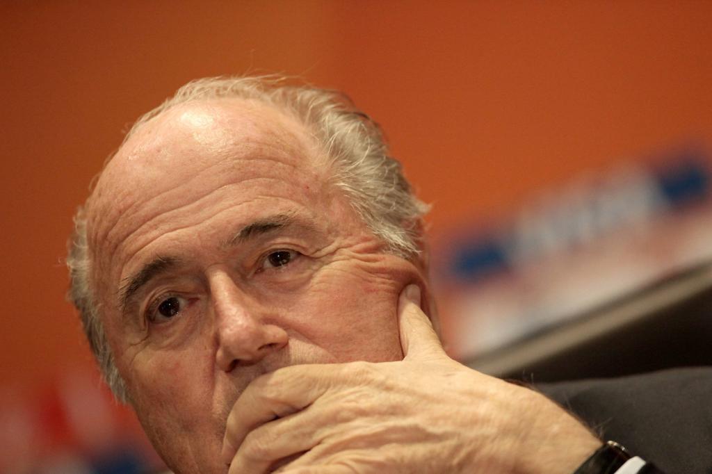 Blatter, ex-presidente Fifa (Infophoto)