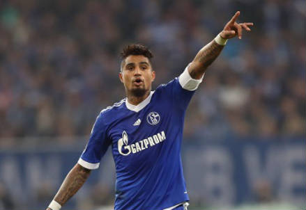 Kevin Prince Boateng, 26 anni, centrocampista ghanese dello Schalke 04 (INFOPHOTO)