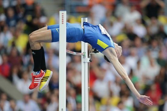 Bohdan Bondarenko in azione (Infophoto)