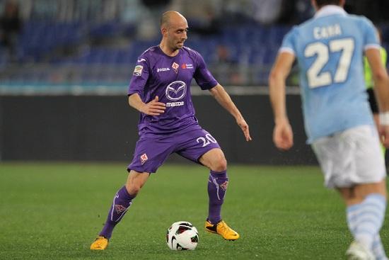 Borja Valero, centrocampista Fiorentina (Foto Infophoto)