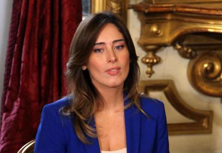 Maria Elena Boschi (Infophoto)