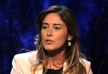 Maria Elena Boschi, ministro delle riforme (Infophoto)