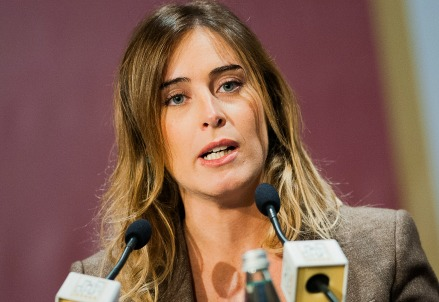 Maria Elena Boschi, ministro per le Riforme (Infophoto)