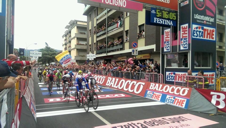 Nacer Bouhanni al Giro d'Italia