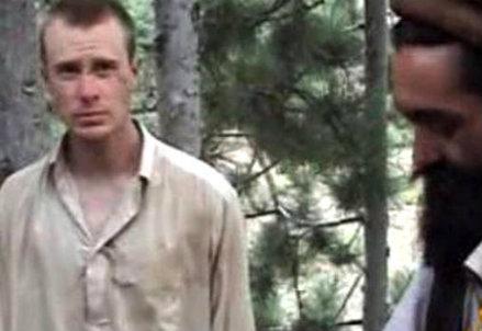 Bowe Bergdahl durante la liberazione