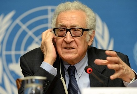 Lakhdar Brahimi (Infophoto)