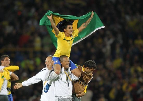 Il Brasile è una delle maggiori candidate alla vittoria del sudamericano Sub 20 (INFOPHOTO)
