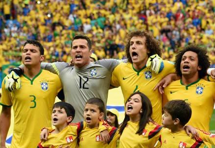 Nazionale brasiliana (Infophoto)