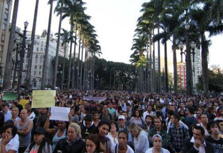 Le proteste in Brasile - Infophoto