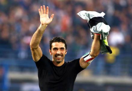 Gianluigi Buffon, 37 anni (INFOPHOTO)