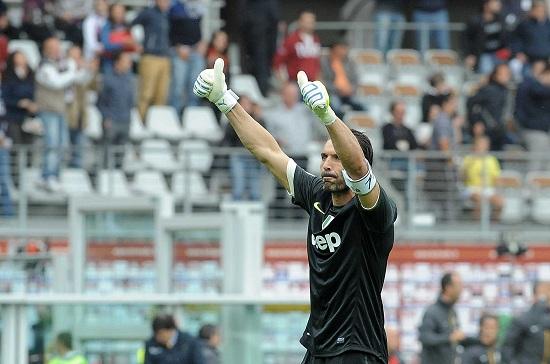 Gianluigi Buffon, 35 anni, portiere della Juventus (INFOPHOTO)