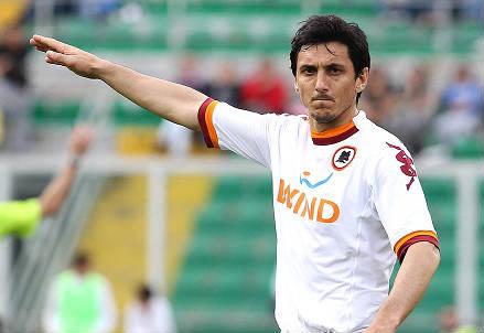 Nicolas Burdisso, 32 anni, difensore argentino della Roma (INFOPHOTO)