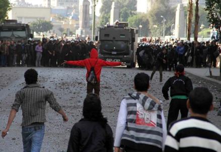 Scontri al Cairo