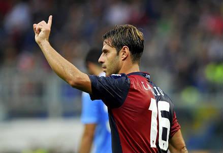 Emanuele Calaiò, 32 anni, attaccante del Genoa (INFOPHOTO)