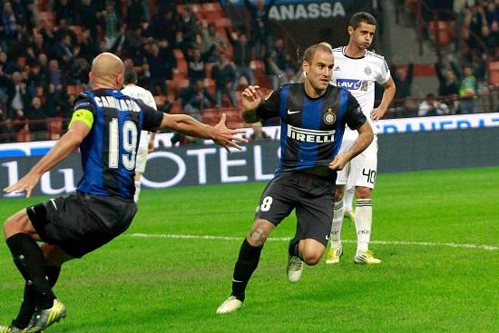 Rodrigo Palacio: oggi due gol e un assist (Infophoto)