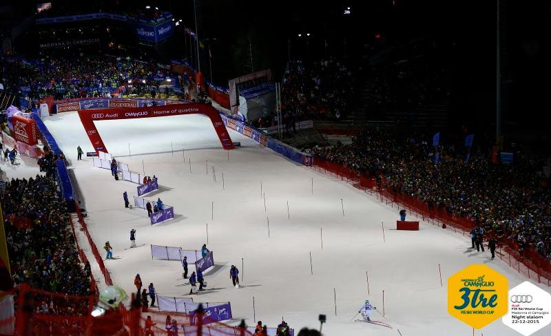 (da Facebook 3Tre Madonna di Campiglio - Audi FIS Ski World Cup)