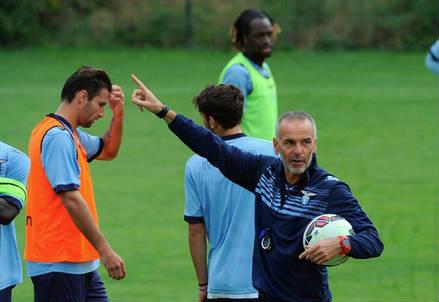 Stefano Pioli, allenatore Lazio (InfoPhoto)