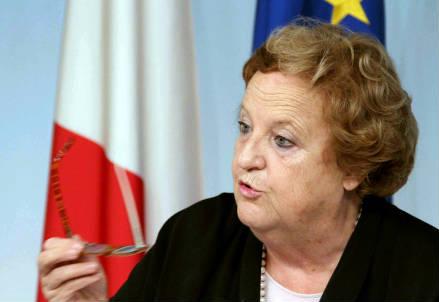 Il Ministro Annamaria Cancellieri