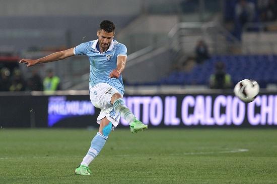 Antonio Candreva, attaccante Lazio (Infophoto)