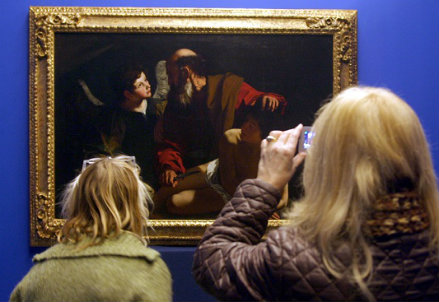 Caravaggio,il Sacrificio di Isacco - Infophoto
