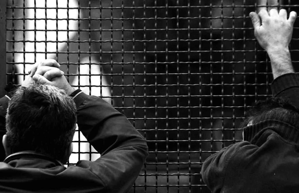 Detenuti in carcere (Infophoto)