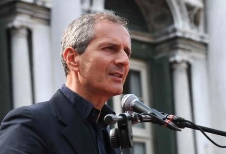 Gianrico Carofiglio (InfoPhoto)