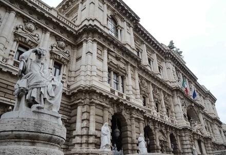 La Corte di Cassazione (InfoPhoto)