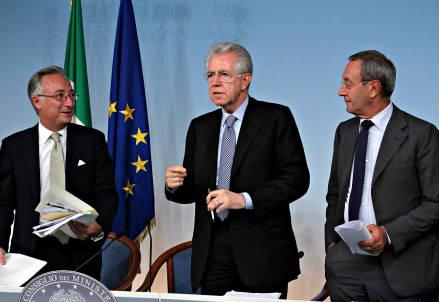 La conferenza stampa al termine del Cdm (Foto: InfoPhoto)