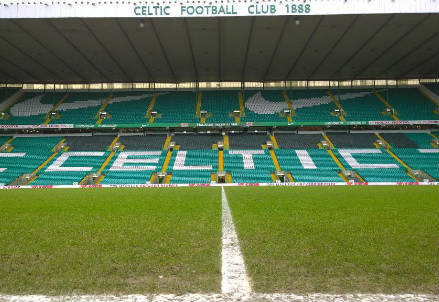 Lo stadio del Celtic