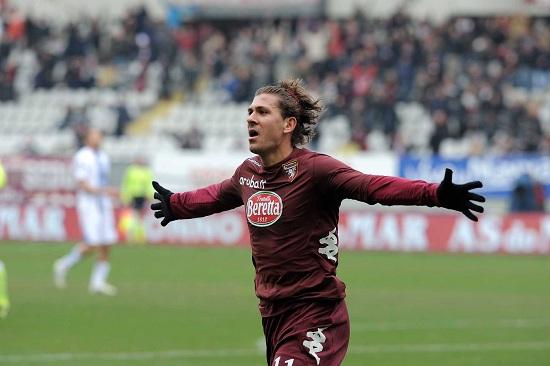 Alessio Cerci, esterno del Torino: è in comproprietà con la Fiorentina (Infophoto)