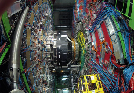 Particolare di LHC, foto Federico Brunett