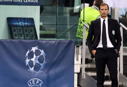 Massimiliano Allegri, 48 anni, allenatore della Juventus (INFOPHOTO)